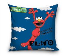 Sesamstraße Elmo Kissenbezug Kissenhülle 40x40 Kopfkissen Geschenke für Kinder