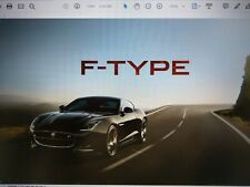 PDFs of 100 page JAGUAR F type 2016my Brochure + 17 page price specification USB