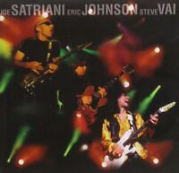 Joe Satriani, Eric Johnson, Steve Vai - G3 Live in Concert (1997)  CD  NEW