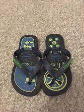 havaianas flip flops Child Size 27/28 Navy