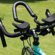 Bike Road Mountain Bicycle Alloy Triathlon Aero Rest Handle Bar Clip On Tri Bar❤