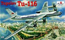 TUPOLEV TU-116 PASSENGER SOVIET AIRCRAFT 1/72 AMODEL 72031