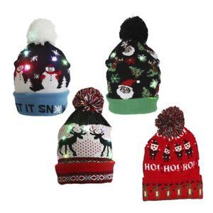 Midwest CBK H0 Natale 21cm Con LED Vacanza Collant Pompom Cappello 160179 Scelta
