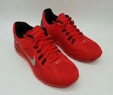 Nike Air Max+ 2013 Men's Sneakers Red Volt Crimson Red 554886-600 Size 9 *Rare*