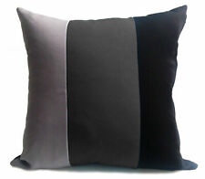 large 3 tone cushions + covers or covers only red black grey white brown Mustard