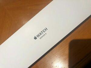 NEW! Apple Watch 3 (GPS, 42mm) Silver Aluminium Case Sport Band (MTF22LL/A)