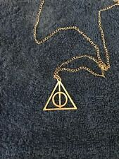 Deathly Hallows Pendant, Harry Potter, Wizarding World, Fantastic Beasts, Noble