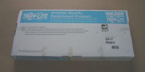 Tripp Lite PDUMH20 12 Outlet Rackmount Power Strip 1U Waber Opened Box