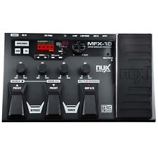 Nux MFX-10 Multi Effect Unit with Looper and Drumcomputer