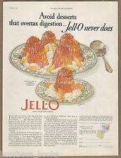 1926 JELL-O advertisement, Jello, Guy Rowe art, Giro, large size advert