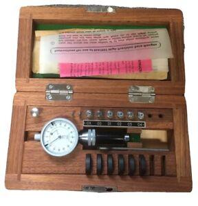 Diatest .020-.038 Split Ball Precision Bore Gage Machinist Tool Maker Inspection