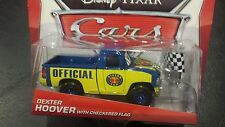 DISNEY PIXAR CARS DEXTER HOOVER CHECKERED FLAG 2014 SAVE or WOC 5% WORLDWIDE