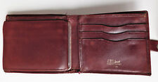 Jacob real leather wallet for men or ladies vintage 1990s well-used