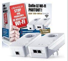 devolo dLAN Netzwerk-stecker weiß 1200 Mb/s Avec Prise Gigogne 9391