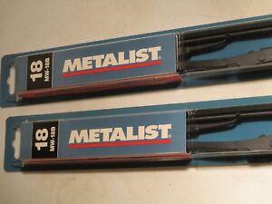18 INCH---TRIDON METALIST-- METAL WIPER BLADE ----LOT OF 2---MW18B
