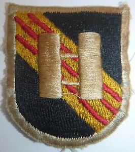 Beret Flash Patch - CAPTAIN - US SPECIAL FORCES AIRBORNE - Vietnam War - 9948