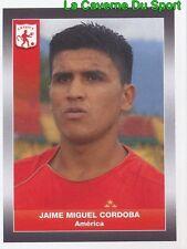 012 JAIME CORDOBA AMERICA CALI STICKER PANINI COLOMBIA PRIMERA A 2008
