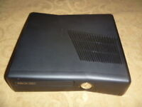 Microsoft Xbox 360 4GB Matte Black S Slim System Console Only Great Condition