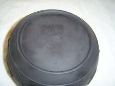 """wedgwood 3 1/4"""" tall by 7 1/2"""" wide basalt bowl"""