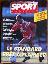 SPORT MAGAZINE du 26/11/1992; Jim Courier/ Tony Kukoc/ Arie Haan/ Michael Jordan