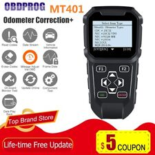 Automotive OBDII OBD Scanner Mileage Odometer Reset Diagnostic Correction Tool