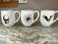 Extra Large Halloween Coffee Mug Spider, Bat Or Skull. Your Choice. 24 Ounce New
