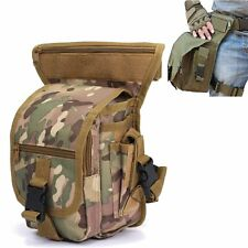 Multi-Purpose Drop Leg Bag Military Canvas Waist Pack Tactical Utility Pouch New
