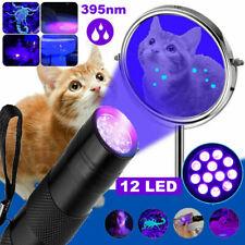 UV Lampe LED Taschenlampe 365 nm Zoom Scorpion Bernstein Schwarzlicht Handlampe
