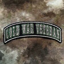 Cold War Veteran Rocker Military Patch