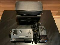 Vintage KODAK Instamatic M6 Super 8 Movie Camera/ Light /Hard Case