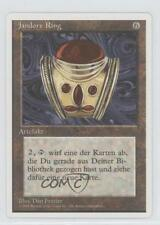 1995 Magic: The Gathering - Core Set: 4th Edition #NoN Jandor's Ring Card 1o7