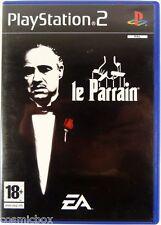 PlayStation 2 Le PARRAIN jeu video complet pour console Sony don corleon mafia