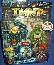 TMNT teenage mutant ninja turtle MICHELANGELO AUTO ATTACK figure New MOC