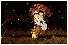 Grave of the Fireflies  POSTER  *AMAZING ART*  Japanese Studio Ghibli Takahata