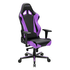 DXRacer OH/RV001/NV Black & Violet Racing Series Gaming Chair with Warranty