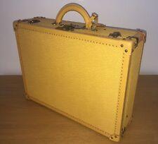 LOUIS VUITTON Yellow/Purple Epi Leather ALZER 65 Attaché Case Trunk Briefcase