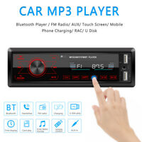 Car Stereos Car FM player Car Radio Bluetooth Stereo Player MP3/USB/SD/FM UK.