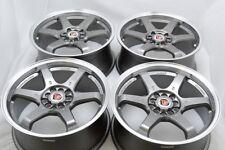17 Wheels Rims Talon Eclipse Fusion Neon Vibe Civic Element Accord 5x100 5x114.3