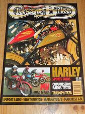 Revista de bici clásica Julio 95, Matchless G3C, Yamaha YD2, YD3, TR7 con VLD, Triumph Harley