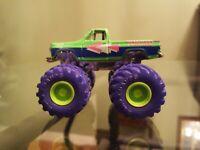 Road Champs Vintage Monster Truck. Chevy Towing Rubber Tires. Rare! Played with.