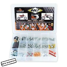 BOLT EURO KTM PRO PACK COMPLETE BOLT KIT & EXHAUST O RINGS FOR SX85 SX125 SX150