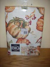 The Big One Fall Thanksgiving  Fabric 60 x 102  Oblong  Tablecloth NIP