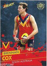 2016 Future Force Base Card (32) Brennan COX Fremantle