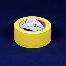 (0,10€/m) 5 Rollen Profi-Putzerband 50 mm, gerillt, Gerband 566, PVC Klebeband