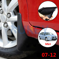 Set Molded Mud Flaps For Ford Mondeo Mk4 07-12 Mudflaps Splash Guards Mudguards