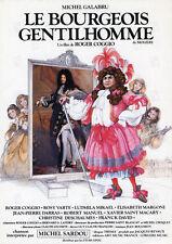 Affiche 40x60cm LE BOURGEOIS GENTILHOMME 1982 Michel Galabru, Roger Coggio BE