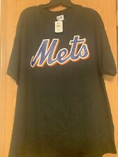 NEW Majestic New York Mets Black Wright Short Sleeve Tee (Size XL)