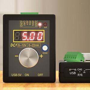 0-10V Spannungssignalgenerator 0-20mA Stromsender Signalgenerator