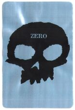 Zero Skull Skateboard Sticker Shiny Silver skate snow surf board BMX Guitare Van