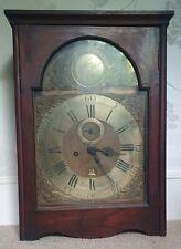 More details for georgian longcase clock movement by john sampson, penzance